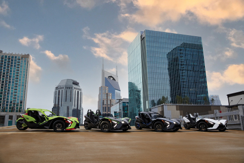 Polaris Slingshot's 2021 Lineup (Photo: Business Wire)