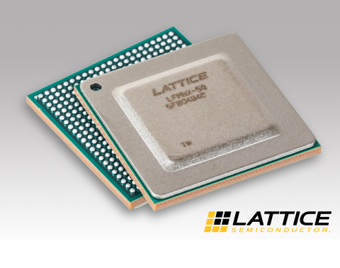 The Lattice Mach-NX secure control FPGA (Photo: Business Wire)