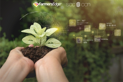 Farmers Edge and Standards Council of Canada partner to establish a framework for agricultural blockchain interoperability. (Photo: Business Wire)