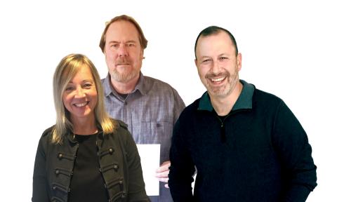 Match Retail (left to right): Vanessa Schnekenburger, Greg Quick, Brian Cohen (Photo: Business Wire)