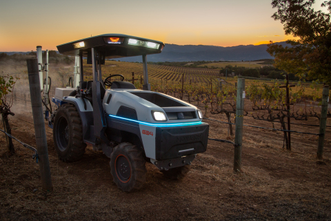 Monarch Tractor: The World's Smartest, Fully Electric, Autonomous Tractor (Photo: Business Wire)