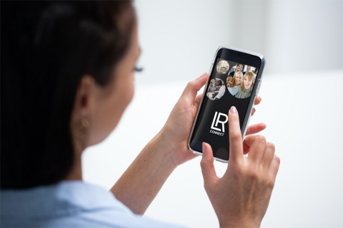 """LR Health & Beauty setzt mit der neuen App """"LR Connect"""" neue Maßstäbe für Vertriebspartnern, ihr LR Geschäft nach standardisierten Methoden aufzubauen und weiterzuentwickeln."""