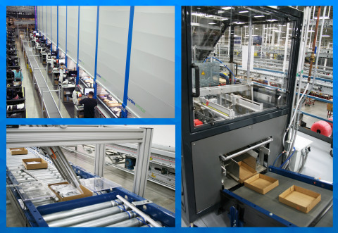 In recent years, Mouser Electronics has made substantial investments in state-of-the-art automated equipment to process orders with exceptional efficiency and accuracy. (Photo: Business Wire)