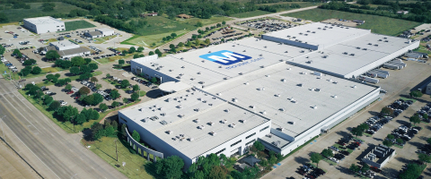 All orders ship same day from Mouser's Headquarters and Global Distribution Center, which spans more than 1 million square feet. (Photo: Business Wire)