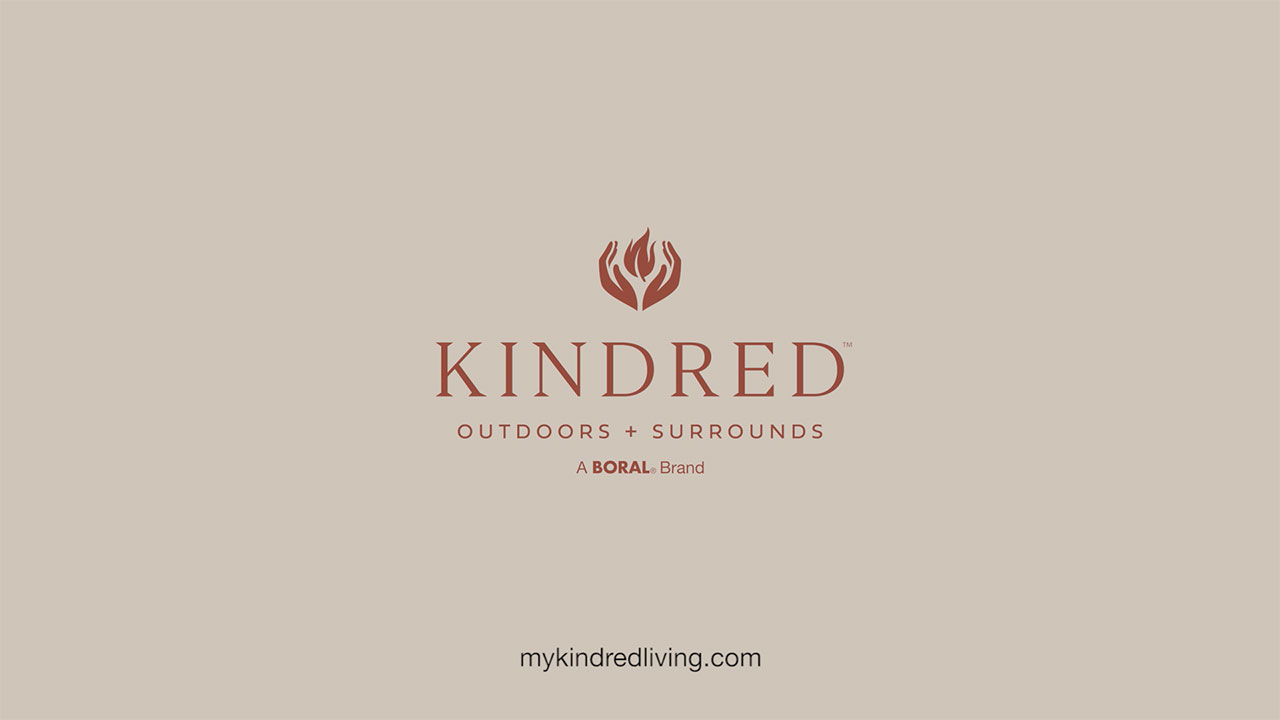 Boral North America introduces Kindred Outdoors and Surrounds, an outdoor living products brand featuring a collection of outdoor kitchens and fireplaces, artisan fire bowls and indoor fireplace surrounds.