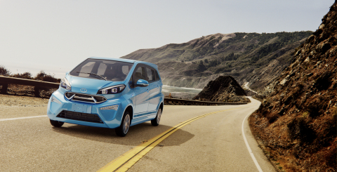 The K23 is Kandi's largest EV model and can comfortably fit up to four passengers. It's perfect for active lifestyles and running errands around town. (Photo: Business Wire)