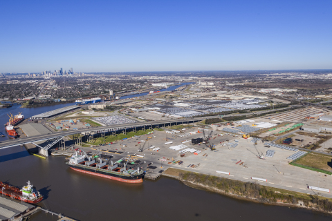 Part of the Port of Houston and Houston Ship Channel (Photo: Business Wire)
