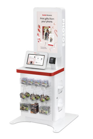 Kodak Moments To Go is a self-service photo printing station fully managed by Kodak Moments. (Photo: Business Wire)