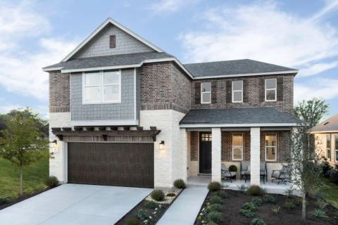 KB Home announces the grand opening of Haven Oaks, a new-home community in Leander, Texas, priced from the $270,000s. (Photo: Business Wire)