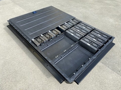 A multi-material battery enclosure featuring CSP proprietary materials is just one of the many technologies being developed at CSP's Advanced Technology Center in Auburn Hills, Michigan. (Photo: Business Wire)