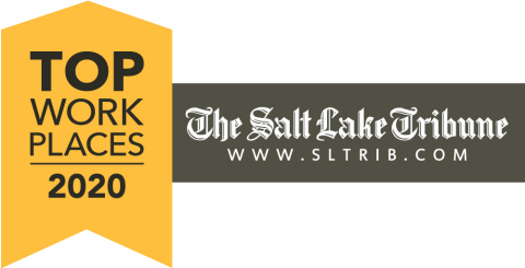 """For the third consecutive year, BAE Systems was named among The Salt Lake Tribune's 2020 """"Top Workplaces."""" (Graphic: The Salt Lake Tribune)"""