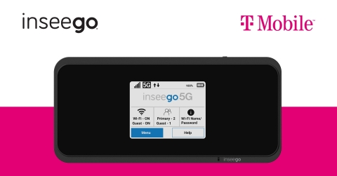 Inseego 5G MiFi (R) M2000 for T-Mobile. (C)2020. Inseego Corp.