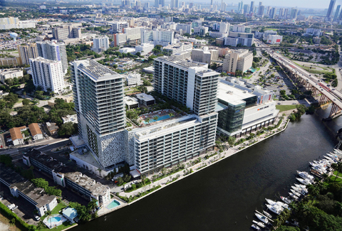 Balfour Beatty completes construction on River Landing Shops and Residences. (Photo: Business Wire)