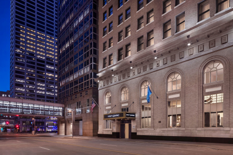 Exterior of Hyatt Centric Downtown Minneapolis (Photo: Business Wire)