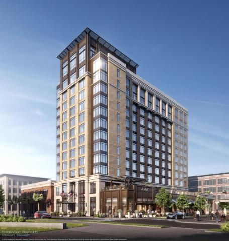 Exterior rendering of Thompson Savannah (Photo: Business Wire)