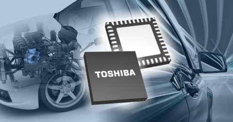 """Toshiba: A brushed DC motor driver IC """"TB9054FTG"""" for automotive applications. (Graphic: Business Wire)"""
