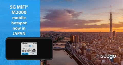 Inseego 5G MiFi lands in Japan ©2020 Inseego Corp.