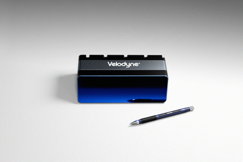 Velodyne Lidar's Velarray M1600 is an innovative solid state lidar sensor designed to serve mobile robotic applications. (Photo: Velodyne Lidar, Inc.)