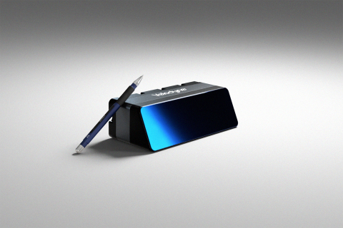 Velodyne Lidar's Velarray M1600 lidar sensor enables touchless mobile and last-mile delivery robots to operate autonomously and safely, without human intervention. (Photo: Velodyne Lidar, Inc.)