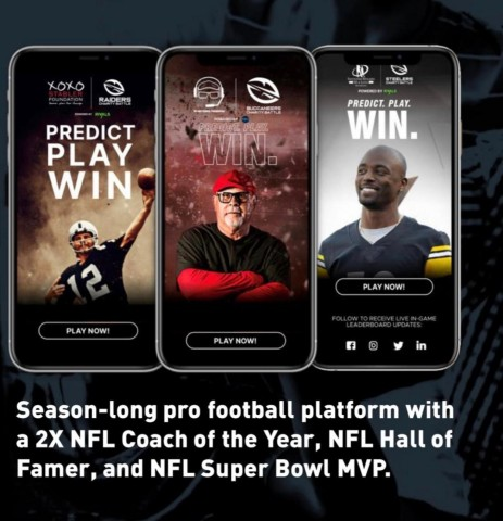 Shokworks, along with gamification partner Rivals Media, has launched a season-long pro football platform with a 2x NFL Coach of the Year, NFL Hall of Famer, and NFL Super Bowl MVP. (Photo: Business Wire)