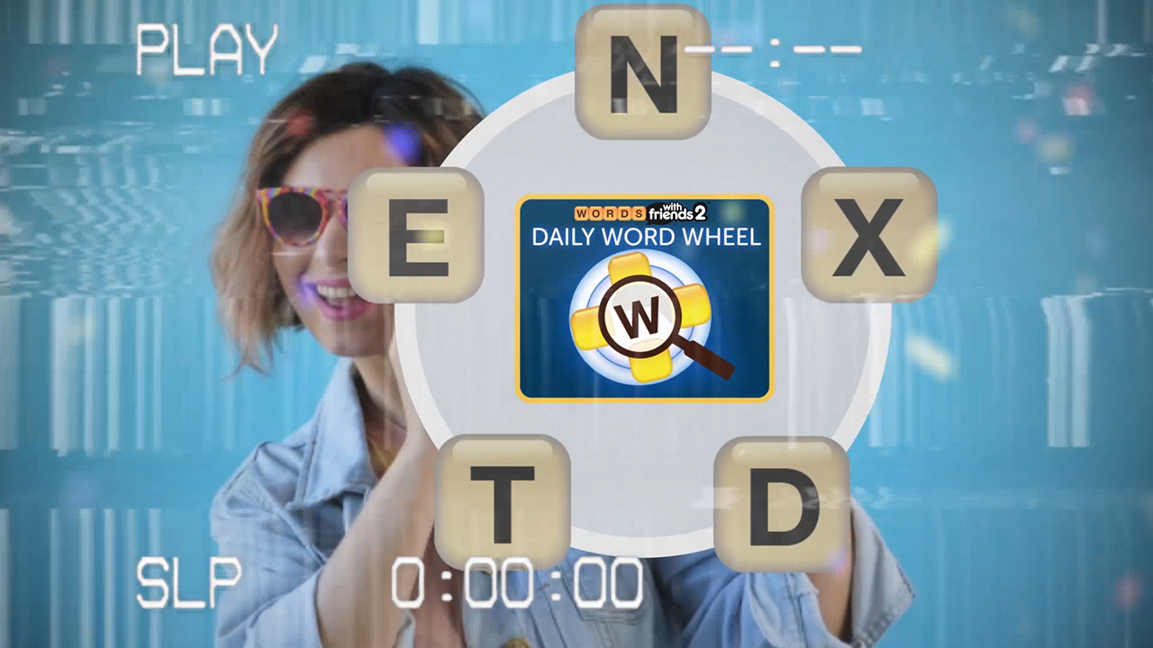 Zynga Announces Daily Word Wheel, a New Voice-Based Puzzle Game Based on Words With Friends, Exclusively for Google Nest Devices