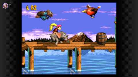 Beginning Dec. 18, a Nintendo Switch Online membership will grant players access to the entire Super NES trilogy of Donkey Kong Country games when Donkey Kong Country 3: Dixie Kong's Double Trouble! arrives for the Nintendo Switch system. (Photo: Business Wire)