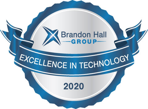 In recognition of game-changing tech innovation, staffing leader PeopleReady has received a silver Brandon Hall Excellence in Technology Award for Best Advance in Workforce Management Technology for its JobStack app. (Graphic: Business Wire)