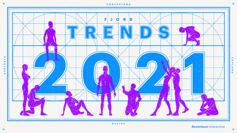 Fjord Trends helps business leaders map out new, hopeful territory for 2021 (Photo: Business Wire)