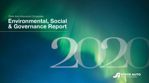 State Auto Insurance Companies' 2020 Environmental, Social and Governance (ESG) Report (Graphic: Business Wire)
