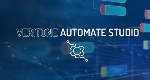 Veritone's new low-code, drag-and-drop application, Automate Studio, helps organizations significantly accelerate the deployment and integration of AI into their applications and processes. (Graphic: Business Wire)