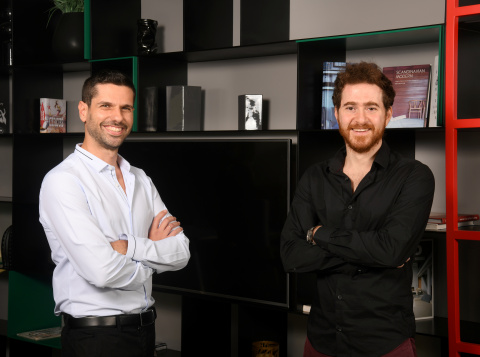 Pictured (left to right): Noname Security Co-founders Oz Golan and Shay Levi. (Photo: Business Wire)
