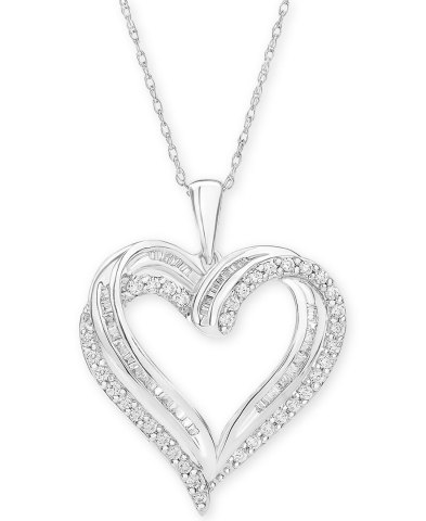 "Macy's offers last-minute shoppers inspiration with thoughtful gifts for every personality and price point; Diamond Heart Pendant 18"" Necklace, $1000 (Photo: Business Wire)"