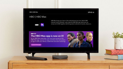 The HBO Max App Begins Rolling Out to Xfinity X1 and Flex Customers Today (Photo: Business Wire)
