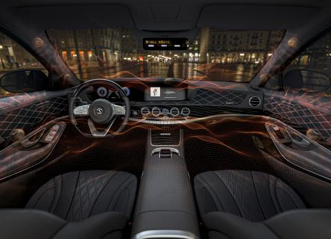 The Ac2ated Sound and AMBEO Mobility solutions from Continental and Sennheiser create a truly lifelike, immersive 3D sound experience, revolutionizing audio technology in the car. (Photo: Business Wire)