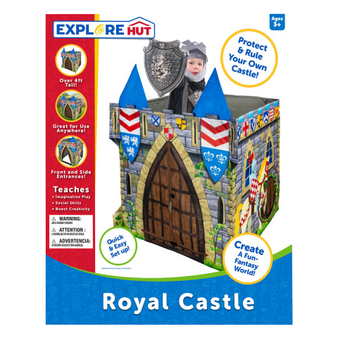 At BJ's, members can find this season's most popular toys for kids of all ages, like the ExploreHut Royal Castle Play Structure. Plus, members can enjoy even more savings on toys at BJs.com/Toys. (Photo: Business Wire)