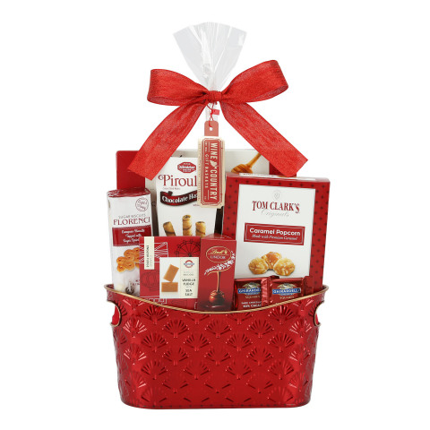 BJ's offers unbeatable value on a variety of seasonal candy and gift baskets, like the Wine Country Metal Gift Basket, which are sure to make the holidays a little sweeter. (Photo: Business Wire)