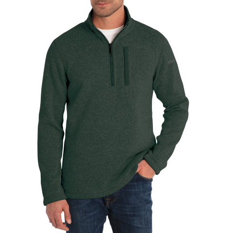 Members can give the gift of comfort or treat themselves with stylish and cozy options this holiday like the Eddie Bauer Sweater Fleece Quarter Zip Pullover. Availability and styles vary by club and on BJs.com. (Photo: Business Wire)