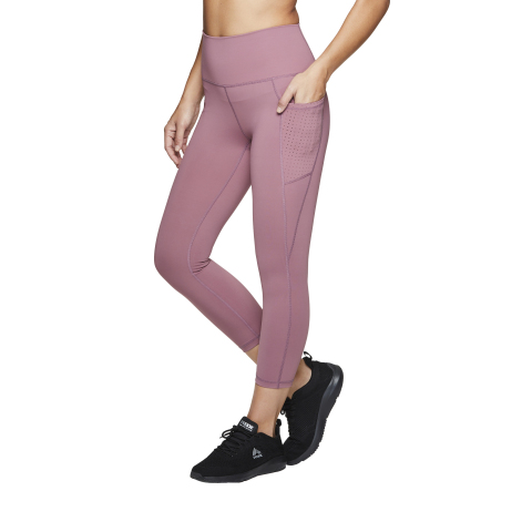 Members can give the gift of comfort or treat themselves with stylish and cozy options this holiday like the RBX Women's Nylon Spandex Leggings. Availability and styles vary by club and on BJs.com. (Photo: Business Wire)