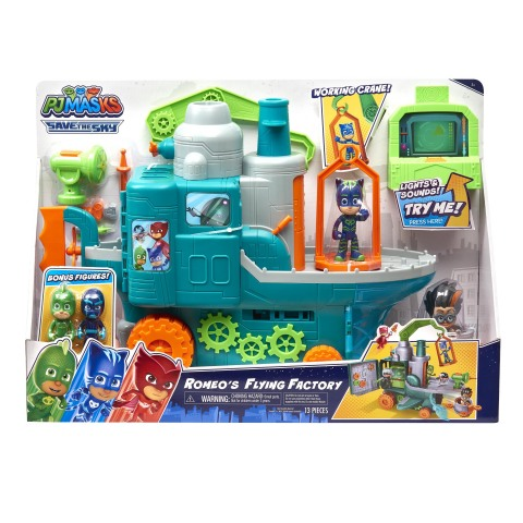 At BJ's, members can find this season's most popular toys for kids of all ages, like the PJ Masks Romeo's Flying Factory Playset. Plus, members can enjoy even more savings on toys at BJs.com/Toys. (Photo: Business Wire)