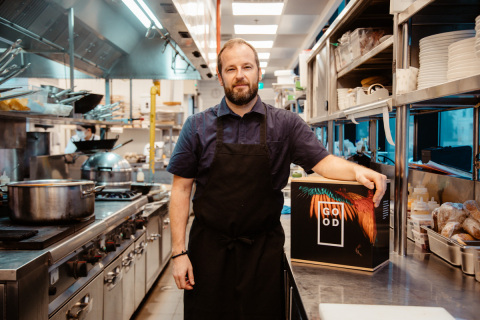 GOOD Meat Cultured Chicken and 1880 Executive Chef Colin Buchan (Photo: Business Wire)