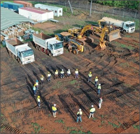 Figure 1 - Séguéla Camp Construction Kick-off (Photo: Business Wire)