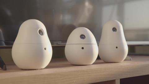 Babypapa, the Panasonic communication robot. (Photo: Business Wire)
