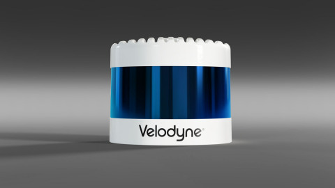 Velodyne's Alpha Prime™ is a next generation lidar sensor that utilizes Velodyne's patented 360-degree surround view perception technology to support safe, high-performance autonomous mobility. (Photo: Velodyne Lidar, Inc.)