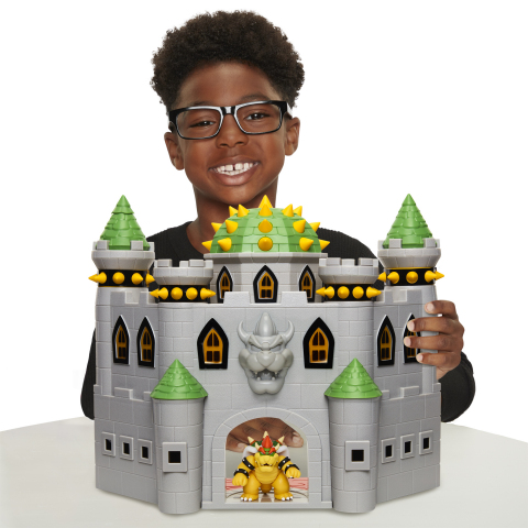 Bowser's Castle playset (Photo: Business Wire)