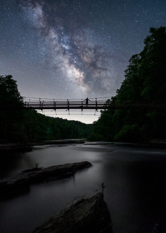 2020 America's State Parks Photo Contest grand prize winning photo, submitted by Thomas Moors and taken in Gorges State Park in North Carolina. (Photo: Thomas Moors)