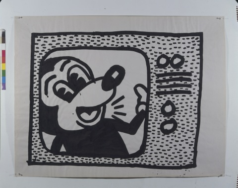 Untitled, 1981 ©Keith Haring Foundation