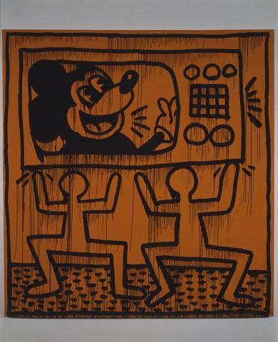 Untitled, 1982 ©Keith Haring Foundation