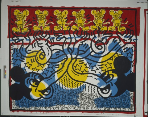 Untitled, 1985 ©Keith Haring Foundation
