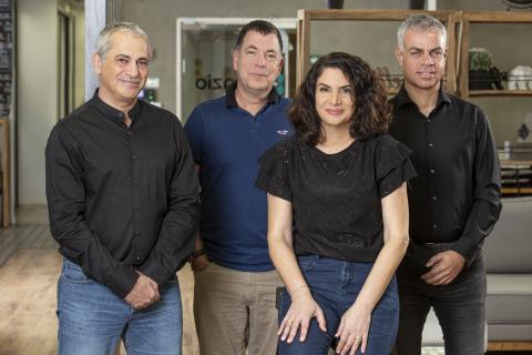 Asaf Somekh, Co-Founder & CEO; Yaron Haviv, Co-Founder & CTO; Yaron Segev, Co-Founder & CPO; Orit Nissan-Messing, VP R&D and Co-Founder (Photo: Iguazio)