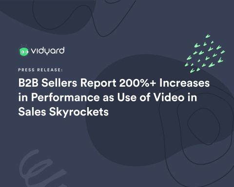 B2B sellers embracing a digital-first and video-first approach to customer engagement see significant gains in 2020. New video-for-sales training tools from Vidyard help every business ramp up their sales teams to embrace video in new ways in 2021. (Photo: Business Wire)